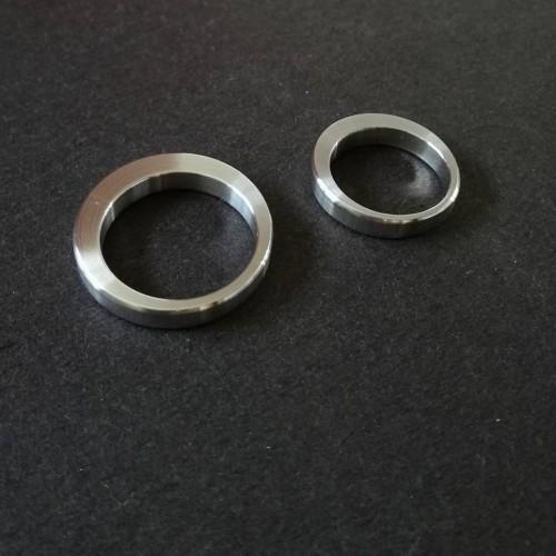 Plieninis žiedas B2B DECENTERED 4 mm