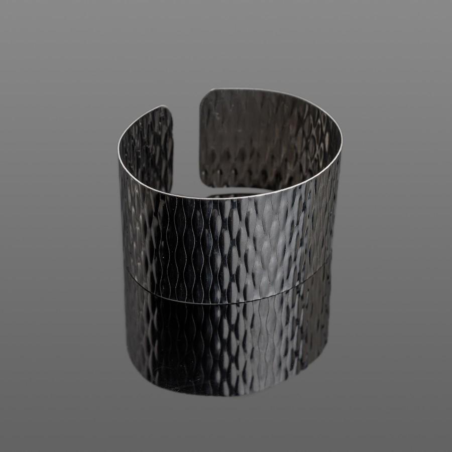 Lengva nerūdijančio plieno apyrankė su raštu 35 mm