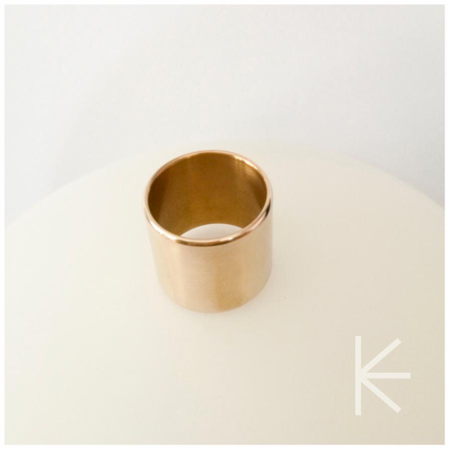 Žalvarinis žiedas B2B 20 mm
